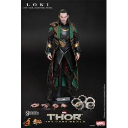 Thor The Dark World Movie Masterpiece Action Figure 1/6 Loki 30 cm
