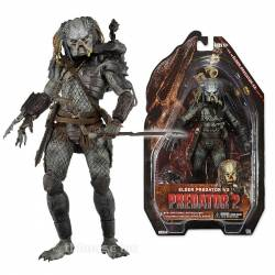 Predators Action Figures 18 cm Series 12 Elder Predator V2 (Predator 2)