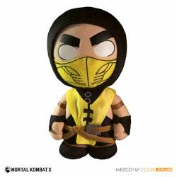 Mezco Toyz Mortal Kombat X Plush Figure Scorpion 20 cm