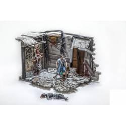 Mcfarlane Toys The Walking Dead TV series: Building Sets - Atlanta Hospital Doors