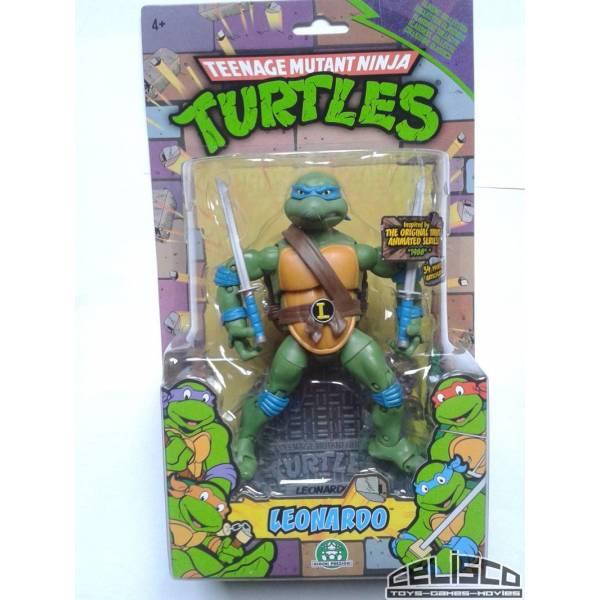 Teenage Mutant Ninja Turtles Retro Action Figure - Leonardo 18 cm