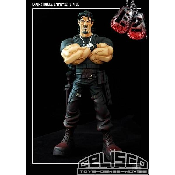 The Expendables 2 Expendtibbles Statue Barney Ross 31 cm