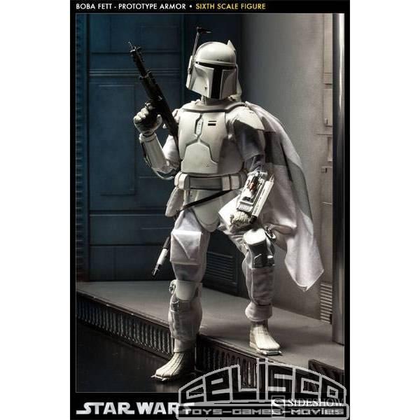 Star Wars Action Figure 1/6 Boba Fett Prototype Armor 32 cm