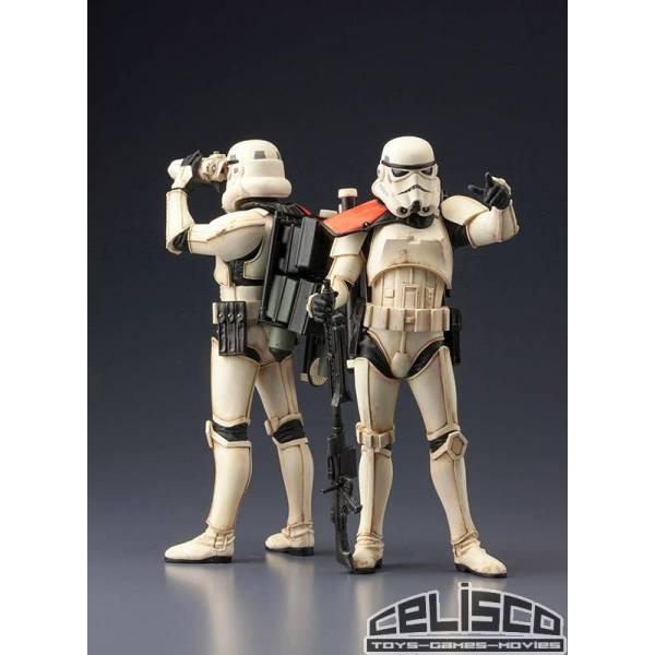 Star Wars ARTFX+ Statue 2-Pack Sandtrooper 18 cm