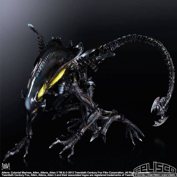 Aliens Colonial Marines Variant Play Arts Kai Action Figure Spitter 20 cm