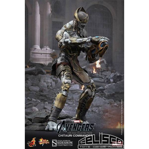 The Avengers Movie Masterpiece Action Figure 1/6 Chitauri Commander 30 cm