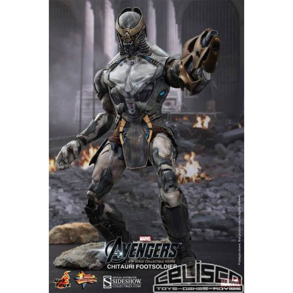 The Avengers Movie Masterpiece Action Figure 1/6 Chitauri Footsoldier 30 cm