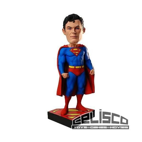 DC Classics Head Knocker Bobble-Head Superman 20 cm