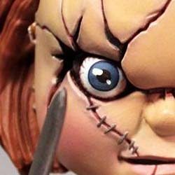 Mezco Toyz Child´s Play Stylized Roto Action Figure Chucky Puppet 15 cm