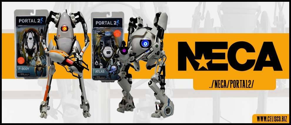 NECA's Portal 2 - Atlas & P-Body